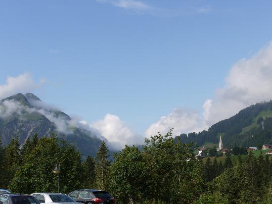 Mittelberg, Austria: La vue depuis l'hôtel