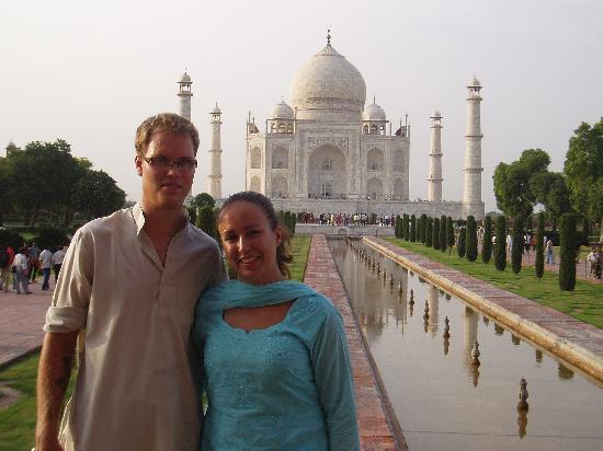 Hotel Madonna: Vakre Taj Mahal!