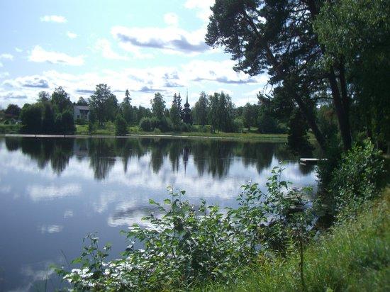 Gävle, السويد: Boulongerskogen City Park, Gävle