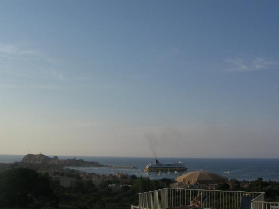Hotel Funtana Marina: Le soir de notre chambre