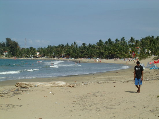 Caribe Surf Hotel: la plage