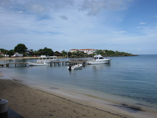 Roatan, Honduras : Half Moon Bay, West End