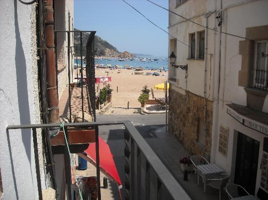 Hotel Maria Rosa: the sea view from our balcony