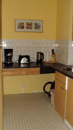 TopDomizil Apartments Panorama Friedrichstrasse: cocina