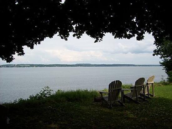 Geneva on the Lake: View of Seneca Lake from the property