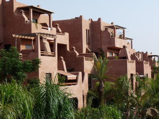 Residence Al Qantara : Vue de la résidence depuis le restaurant