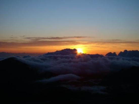 Haleakala National Park, ฮาวาย: Haleakala Sunrise, Maui