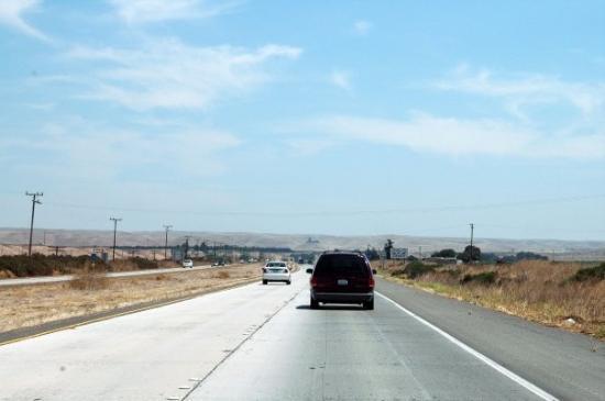 San Luis Obispo, Kalifornia: highway 101 fra San Josè e Monterey