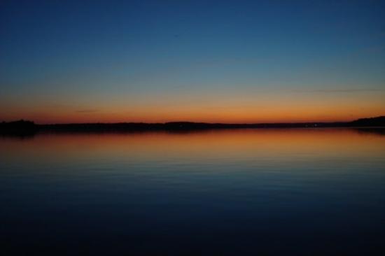 Detroit Lakes, MN: Dusk.