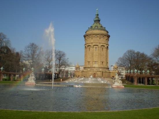 มันไฮม์, เยอรมนี: Wasserturm