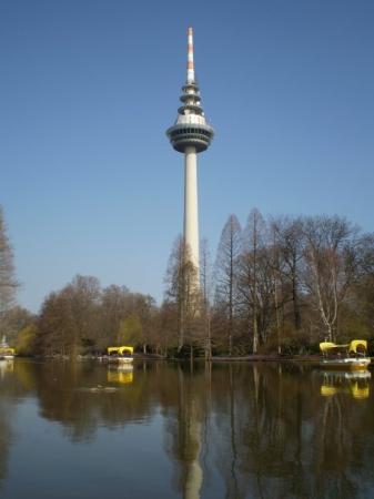 มันไฮม์, เยอรมนี: Fernmeldeturm