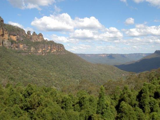 Katoomba, ออสเตรเลีย: Three Sisters, Blue Mountains, NSW