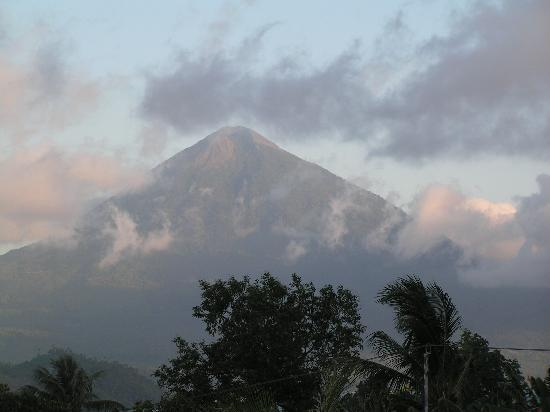 Grand Dafam Bela Ternate: View from our room in the early evening-2