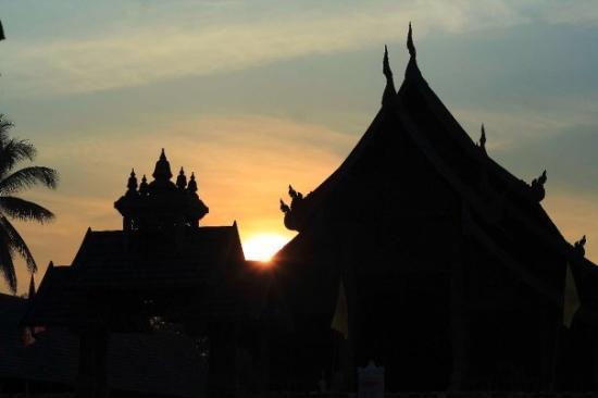 เมืองลำปาง, ไทย: Local Temple in Ban Khuang Kom