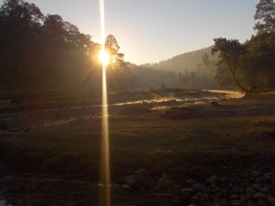 Joyabaj, Guatemala: This was what our site looked like in the morning