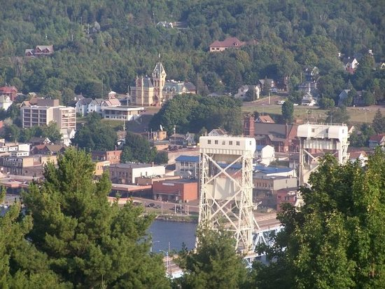 Houghton (MI) United States  city photo : lift bridgeHoughton, MI, United States: fotografía de Houghton, Upper ...