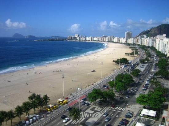 Rio de Janeiro, RJ: Copacabana auf meiner Agenttour November 2007