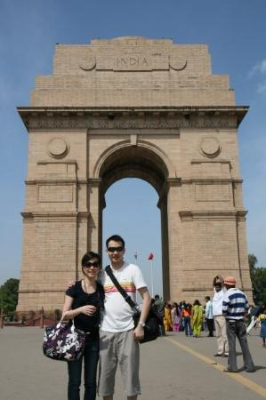 Nova Délhi, Índia: The India Gate (Hindi: इंडिया गेट) is one of the largest war memorials in India.