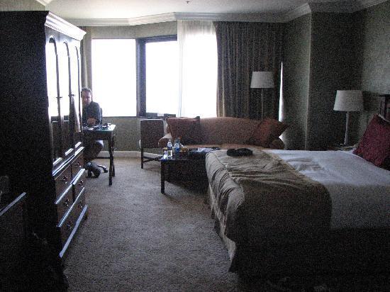 ฮิลตัน ลอสแอนเจลิส/ยูนิเวอร์แซลซิตี้: King Executive Room 21st floor