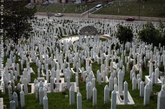 Sarajevo. Kovači memorial cemetery. - Picture of Sarajevo ...