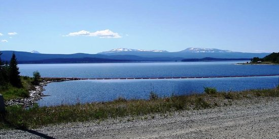 Burns Lake, Kanada: Lake before Francois Lake