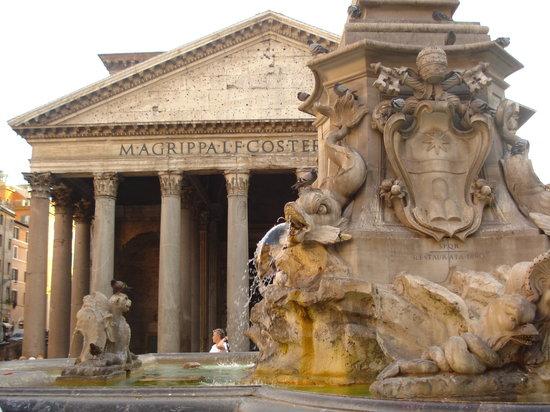 Ibis Roma Fiera: Vista del Panteon de Agrippa