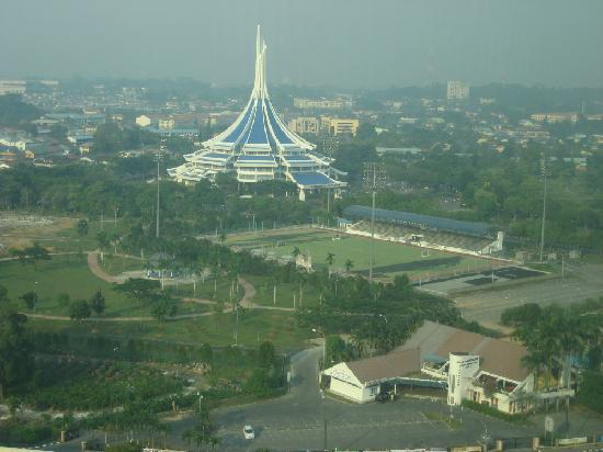 M Hotels : Kuching view from hotel room