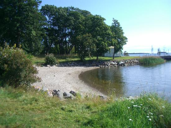 Gävle, สวีเดน: Small beaches/bays at Engeltofta
