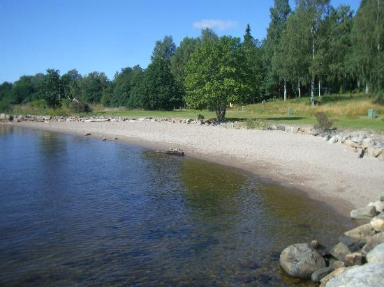 Small beaches/bays at Engeltofta