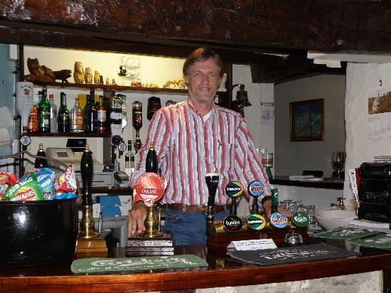 The Lion Inn: Me behind the bar