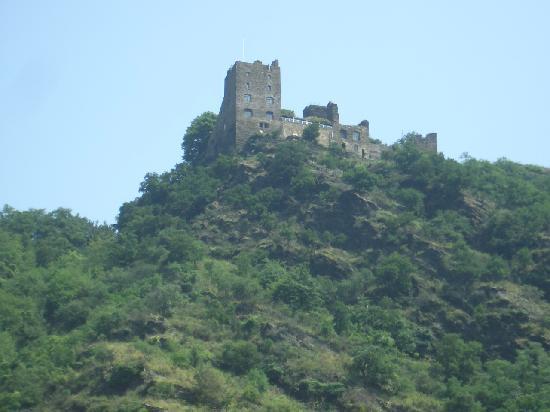 Hotel Castle Liebenstein: KDラインの観光船からみたホテル