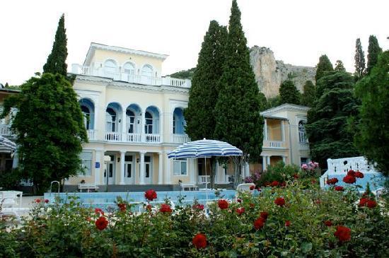 Симеиз, Украина: Hotel von der Fron mit Swimmingpool