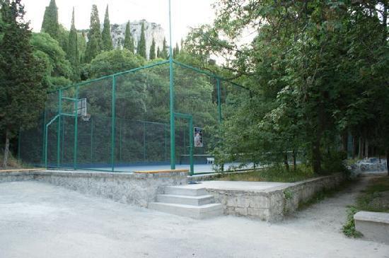 Villa Goluboy Zaliv : Tennisplatz - Court