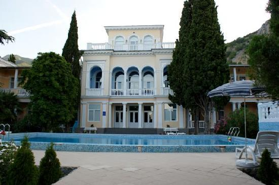 Симеиз, Украина: Hotel Villa Galuboi Saliv