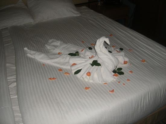 Susesi Luxury Resort: the maids beautiful work