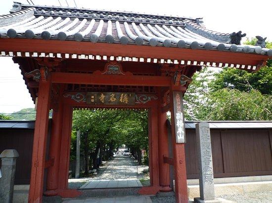 Shomyo-ji Temple: 門と参道