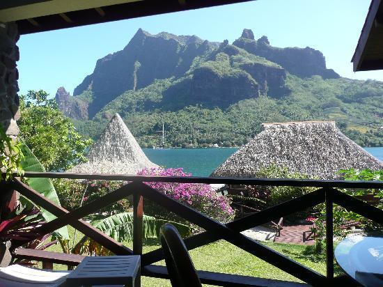 Extrêmement vue de la chambre - Picture of Club Bali Hai Moorea Hotel  PY25