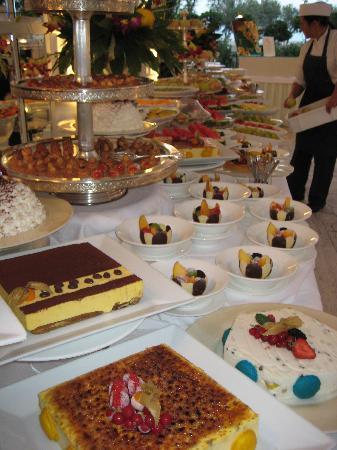 Grand Hotel Rimini: Dessert