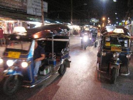 Chiang Mai Tuk Tuks