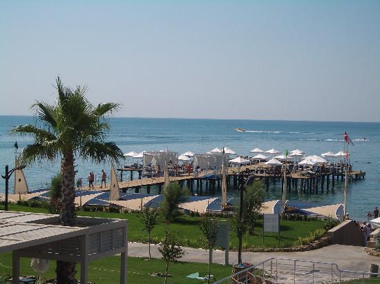 Susesi Luxury Resort: Hotel pier