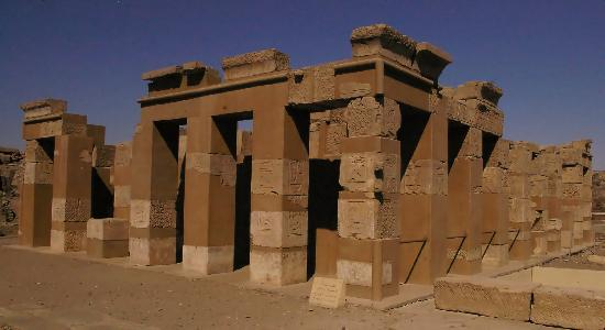 Elephantine Island : Another re-constructed Temple