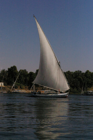 Elephantine Island : Romantic way of getting to the Island and back!
