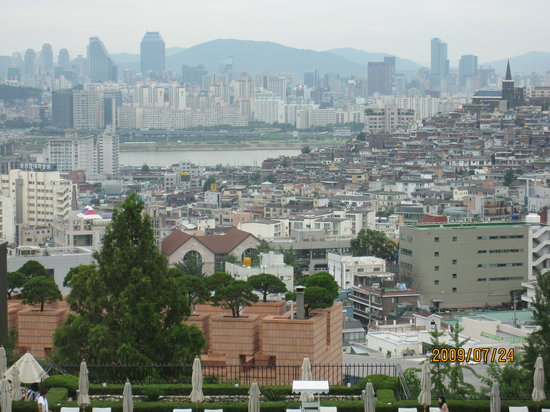 Grand Hyatt Seoul: 昼間のパノラマです!