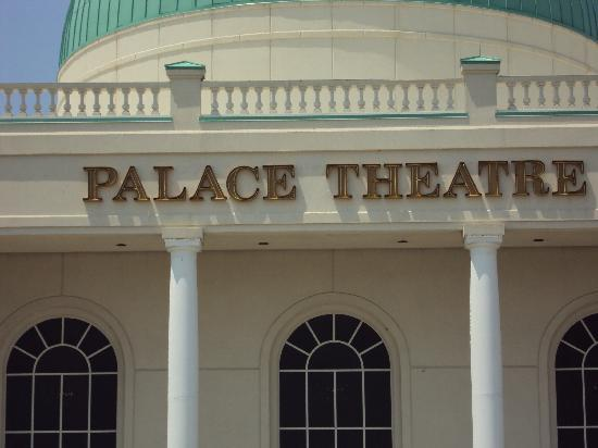 Palace Theatre: Palace Theater from outside