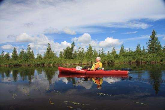 Oxbow, Maine: Silence and Reflections