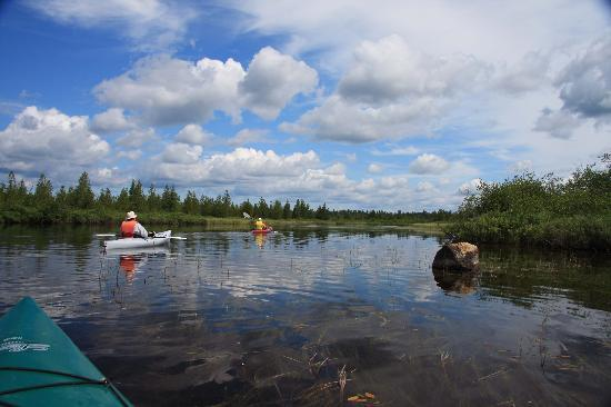 Oxbow, ME: More kayaking