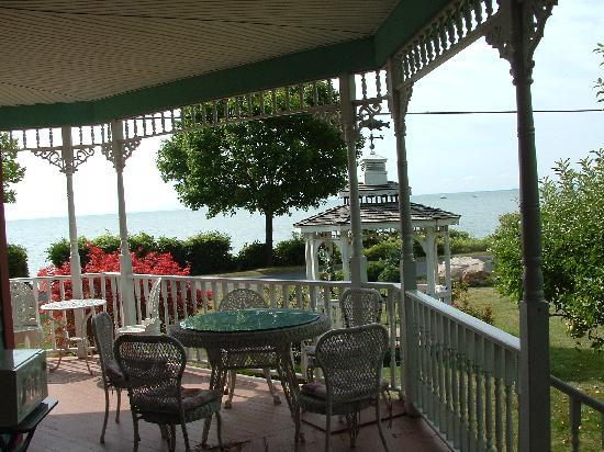 Kelleys Island, โอไฮโอ: View on the Veranda