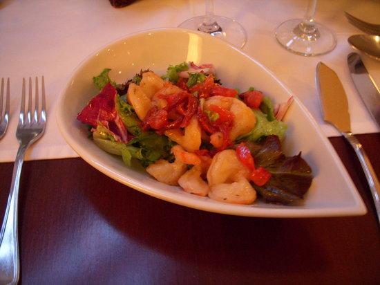 Fausto's Osteria: Starter: shrimp salad