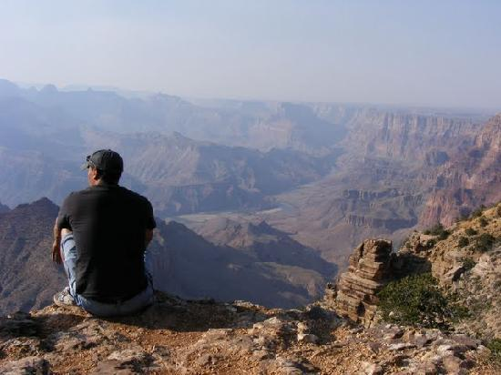 Grand Canyon Desert View Watchtower: Secluded South Rim