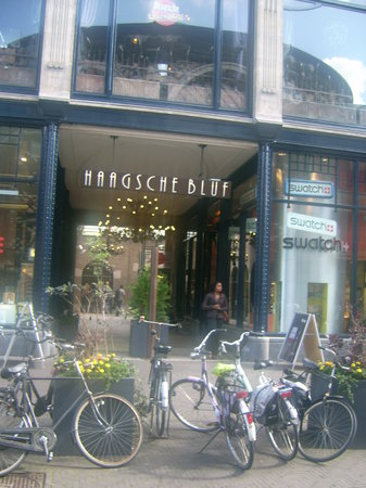 Haagse Bluf, Shopping Centre
